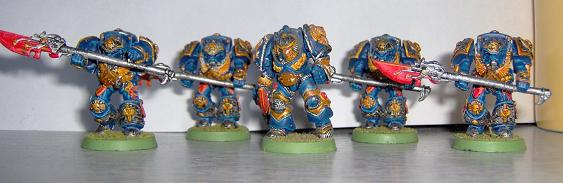 ouge trader 1989 MK1 Gray Knight Terminators (Painted 1993)