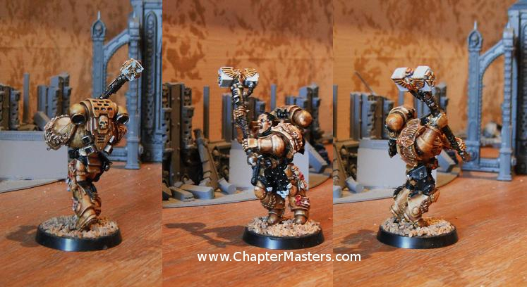 Limited Edition 2009 Games Day Space Marine Captain
