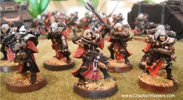 battle sister squard by - photo #4